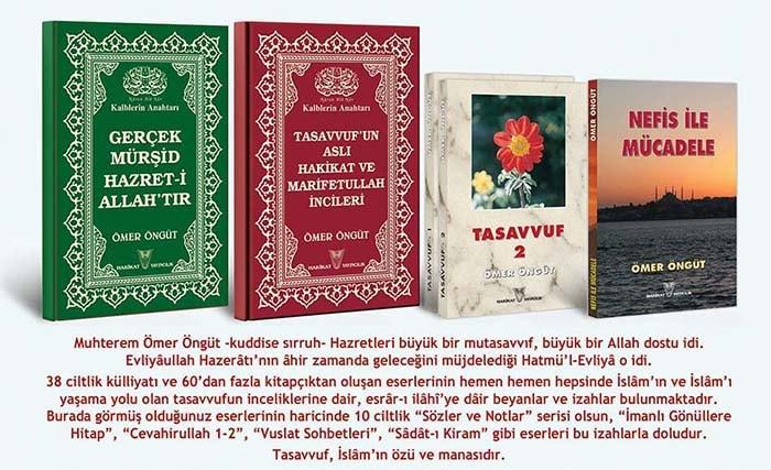 Ömer Öngüt'ün Tasavvuf Tarilkat Mürşid-i Kamil Nefise Mücadele Konulu Eserleri